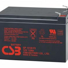 CSB Acumulator UPS GP12120F2 12V/12Ah - Jetoane numismatica