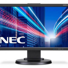 Monitor LED NEC E203Wi, 16:9, 20 inch, 1600 x 900 pixeli, 14 ms, negru