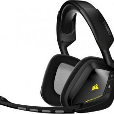 Casti Corsair Gaming Void, wireless, 7.1, cu microfon, negre - Casti PC