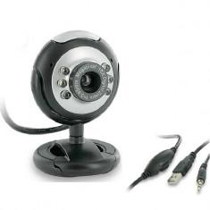 Camera web 4World 07610, cu microfon, 2MP, USB 2.0 - Webcam