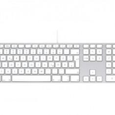 Tastatura Apple MB110Z/B USB, alba, layout International English