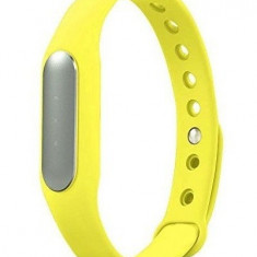 Bratara fitness iUni MI1 Smart Band, Bluetooth, Activity and Sleep, Galben