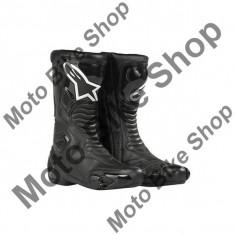 MBS Cizme Alpinestars Racing S-MX5, negre, 43, Cod Produs: 2223091043AU - Cizme barbati