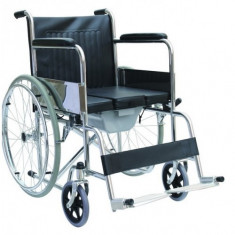 Fotoliu (scaun) rulant cu vas WC - Scaun cu rotile