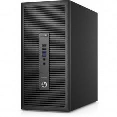 Sistem desktop HP ProDesk 600 G2 MT Intel Core i5-6500 8GB DDR4 256GB SSD Windows 10 Pro downgrade la Windows 7 Pro Black - Sisteme desktop fara monitor