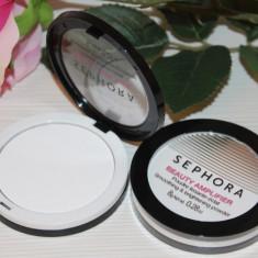 Pudra compacta transparenta pt fixarea machiajului Sephora Beauty Amplifier