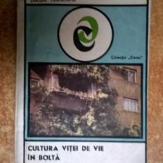 Sarghi Trandafir – Cultura vitei de vie in bolta - Carti Agronomie