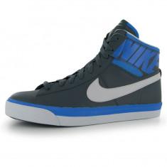 Adidasi tenisi pantofi sport Nike Match Supreme Mid ORIGINALI piele masura 40 - Adidasi barbati Nike, Culoare: Albastru, Piele naturala