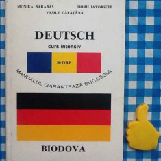 Limba germana curs intensiv 50 ore Monika Barabas Doru Iavorschi - Curs Limba Germana Altele