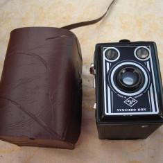 Aparat foto de colectie AGFA syncro box cu husa - Aparat de Colectie