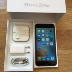 IPhone 6S Plus 128GB - Telefon iPhone Apple, Gri, Neblocat
