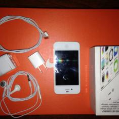 iPhone 4s Apple 32 gb, Alb, Neblocat