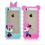 Husa Bumper Iphone 5 / 5s  /SE Mickey / Minnie Mouse
