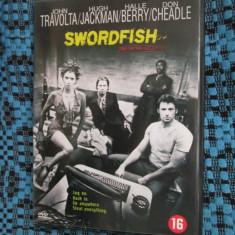 SWORDFISH (1 FILM DVD ORIGINAL cu JOHN TRAVOLTA si HALLE BERRY)