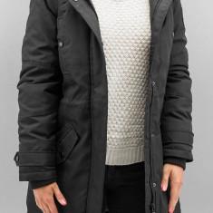 Jacheta parka cu guler detasabil - Vero Moda - 10159267 negru - Geaca dama Vero Moda, Marime: S, M