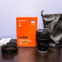 Sony ZEISS 16-35 mm f/4 Fullframe - Obiectiv DSLR