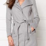Palton din lana Vero Moda - art. 10159247 gri melange