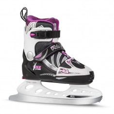 Patine copii Fila X-One Black/Pink girl
