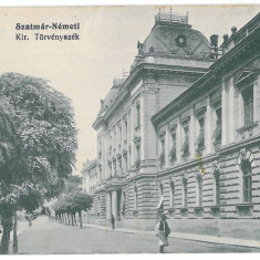 3527 - SATU-MARE - old postcard, CENSOR - used - 1915 - Carte Postala Maramures 1904-1918, Circulata, Printata