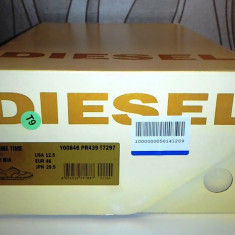 Tenisi Pantofi sport Adidasi piele DIESEL noi originali marimea 46 - Tenisi barbati Diesel, Culoare: Verde