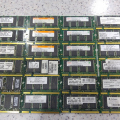 Lot 24 memorii laptop 256Mb ddr 266Mhz, 333Mhz, se vand la pretul final. - Memorie RAM laptop Kingston, Dual channel
