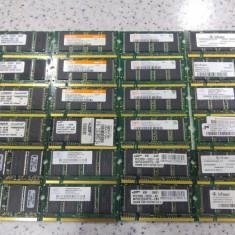Lot 24 memorii laptop 256Mb ddr 266Mhz, 333Mhz, se vand la pretul final. - Memorie RAM laptop Kingston, Dual channel