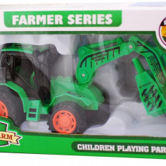 Tractor tip picamer din plastic - jucarie farmer series - Vehicul