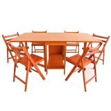 Set masa plianta de 10 persoane