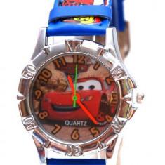 Ceas CARS din desene animate, diverse modele + Cutie Cadou - Ceas copii Disney