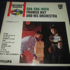 Francis Bay And His Orchestra – Cha-Cha-Rock_ vinyl(LP) Olanda - Muzica Latino Altele, VINIL