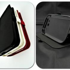 Husa FlipCover Stand Magnet Orange Dive 30 Negru - Husa Telefon