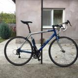 Cursiera - Cursiere, 12 inch, Numar viteze: 1, Aluminiu, Gri-Albastru