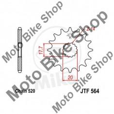 MBS Pinion fata 520 Z14, JTF564.14, Cod Produs: 7264526MA - Pinioane transmisie Moto