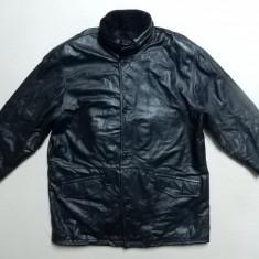 Haina piele naturala Barisal Genuine Leather; marime 58, vezi dimensiuni;ca noua - Geaca barbati, Culoare: Din imagine