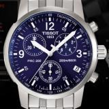 Ceas barbatesc Tissot PRC200 Clasic Cadran albastru