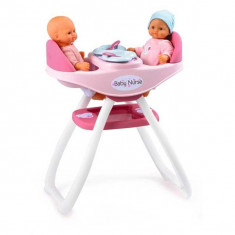 Jucarie scaun de masa si balansoar 2 in 1 Baby Nurse 024218 Smoby - Carucior papusi