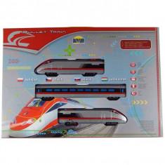Tren electric Bullet Train 1210 - Trenulet de jucarie