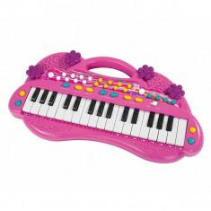 Orga electronica roz 6830692 Simba - Instrumente muzicale copii