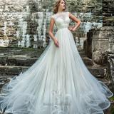 Rochie de mireasă Maya Fashion 2016 - Rochie de mireasa printesa