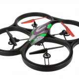 Drona iUni V666 cu Camera, Telecomanda cu monitor, Leduri exterior, Giroscop 6 axe