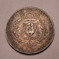 Italia 5 Lire 1826 Superba Piesa de Colectie, Europa