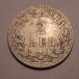 2 lei 1875 - Moneda Romania