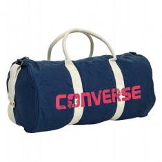 Geanta Sport Converse Bleumarin Graphic Barrel Duffel - Geanta Barbati Converse, Marime: Marime universala, Culoare: Din imagine