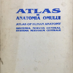 ATLAS DE ANATOMIA OMULUI. Sistemul nervos central - Ranga, Dimitriu