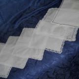 Set 6 buc batiste albe vintage