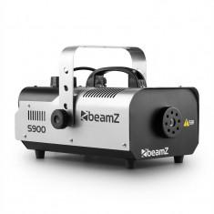 Beamz S900 mașină de ceață, 70 m3, 900 W, telecomandă - Masina de fum