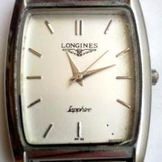 Longines Sapphire Quartz SW 98 - Ceas barbatesc Longines, Elegant, Inox, Analog, 1970 - 1999