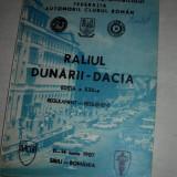 RALIUL DUNARII-DACIA,REGULAMENT, 1987//ACR