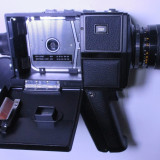 camera film super 8mm aparat filmat Chinon super 8 mm anii 70 functionala