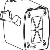 Amortizor zgomot mijloc/spate MERCEDES-BENZ ACTROS 1831, 1831 L - DINEX 50456